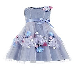 Monsoon - Purple girl's 'Athia' dress