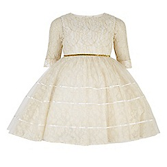 Monsoon - White girl's 'Therese' lace dress