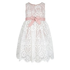 Monsoon - Pink Elizabeth lace dress
