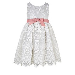 Monsoon - White Elizabeth lace dress