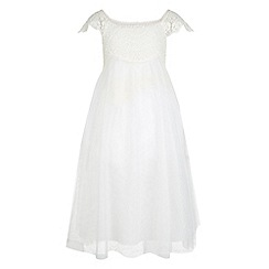Monsoon - White Estella crochet dress