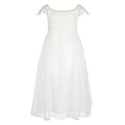 Monsoon - White Estella crochet dress