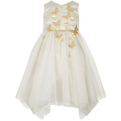 Monsoon - Gold Analia dress