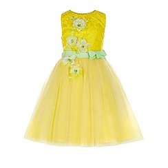 Monsoon - Yellow Elodie dress