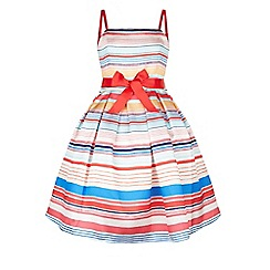 Monsoon - Multicoloured  Riviera stripe dress
