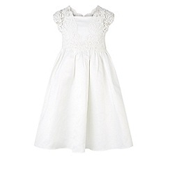 Monsoon - White Estella duchess dress