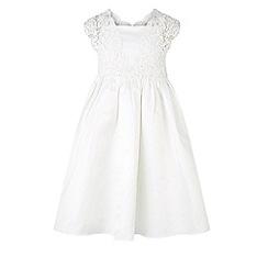 Monsoon - White Estella duchess dress