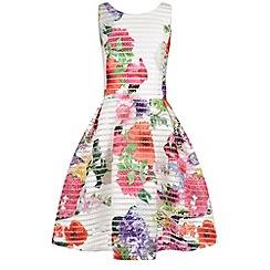 Monsoon - White Storm brooklyn botanical stripe dress