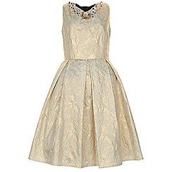 Monsoon - Gold Beijing dress