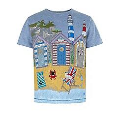 Monsoon - Blue Bradley beach hut t-shirt