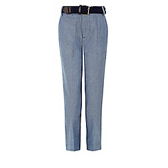 Monsoon - Blue Harvey trousers