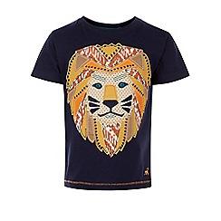 Monsoon - Blue Logan lion t-shirt
