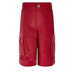 Monsoon - Red Arthur cargo shorts