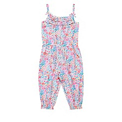 Monsoon - Multicoloured  Baby florrie jumpsuit