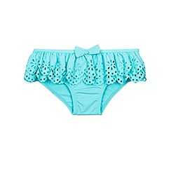 Monsoon - Blue Baby frill bikini pant