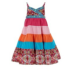 Monsoon - Multicoloured  Lotus colour block dress