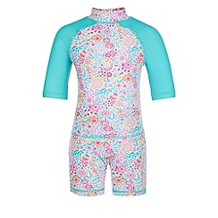 Monsoon - Multicoloured  Baby florrie surfsuit