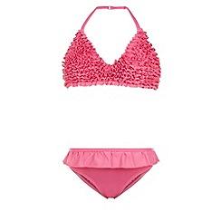 Monsoon - Pink Frou frou frill bikini
