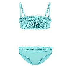 Monsoon - Blue Storm frou frou bandeau bikini