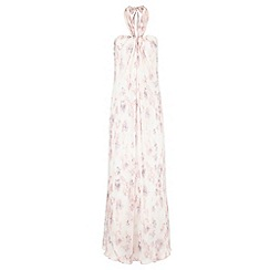 Monsoon - Multicoloured  Magnolia print maxi dress