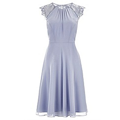 Monsoon - Blue Bluebell short dress