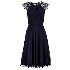 Monsoon - Blue Bluebell short dress