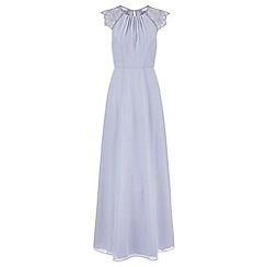 Monsoon - Blue Bluebell maxi dress