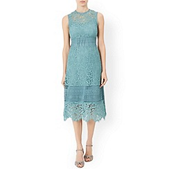 Monsoon - Green Sienna lace dress