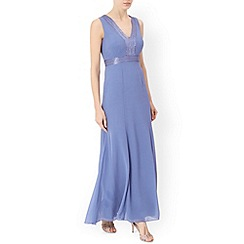 Monsoon - Blue Clarice maxi dress