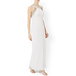 Monsoon - White Cleo maxi dress