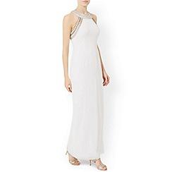 Monsoon - White Cleo maxi dress