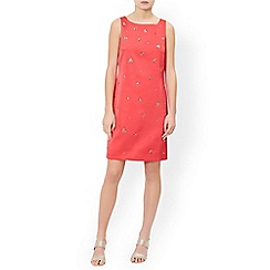 Monsoon - Pink 'Petunia' embellished dress