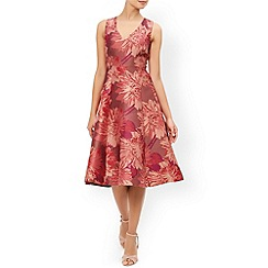 Monsoon - Pink Posey jacquard dress