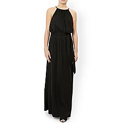 Monsoon - Black 'Freesia' maxi dress
