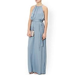 Monsoon - Blue 'Freesia' maxi dress