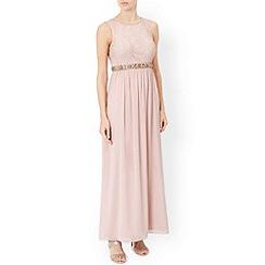 Monsoon - Pink Maeve maxi dress