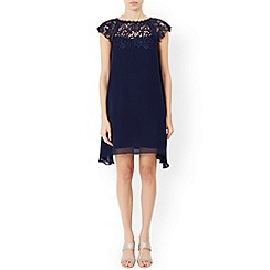 Monsoon - Blue Nelly trapeze dress