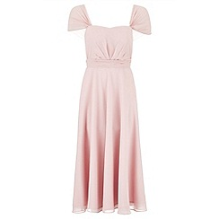 Monsoon - Pink Aurora short dress