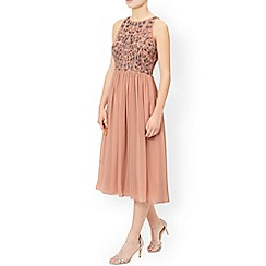 Monsoon - Pink 'Lily' midi dress
