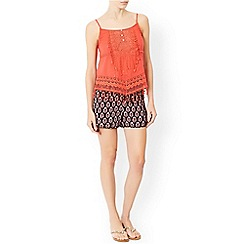 Monsoon - Pink 'Ava' lace cami top