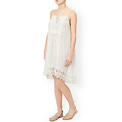 Monsoon - Ivory 'Ava' lace dress