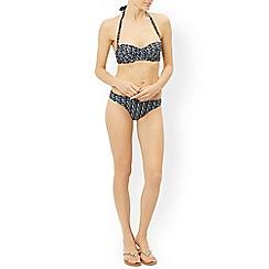 Monsoon - Blue 'Alani' printed bikini top
