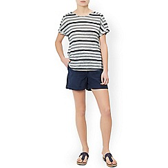 Monsoon - Multicoloured  'Lettie' linen t-shirt