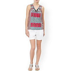 Monsoon - Multicoloured  'Georgie' printed sleeveless top