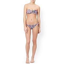 Monsoon - Multicoloured  'Kara' printed bikini top