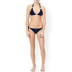 Monsoon - Blue 'Rae' shimmer bikini pant