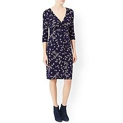 Monsoon - Blue Saskia swallow print dress