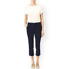 Monsoon - Blue Cori chino trousers