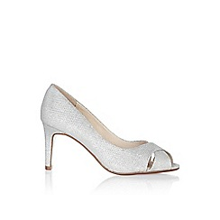 Monsoon - Silver 'Celestina' cross vamp dressy sandal