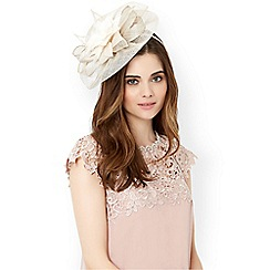 Monsoon - Pink 'Belle' feather flower fascinator